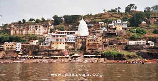Sri Omkareshwar temple, Madhya Pradesh, India.