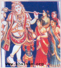 Bhikshatanar - a form of Lord