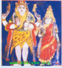 chandrasekar - God civa with crescent