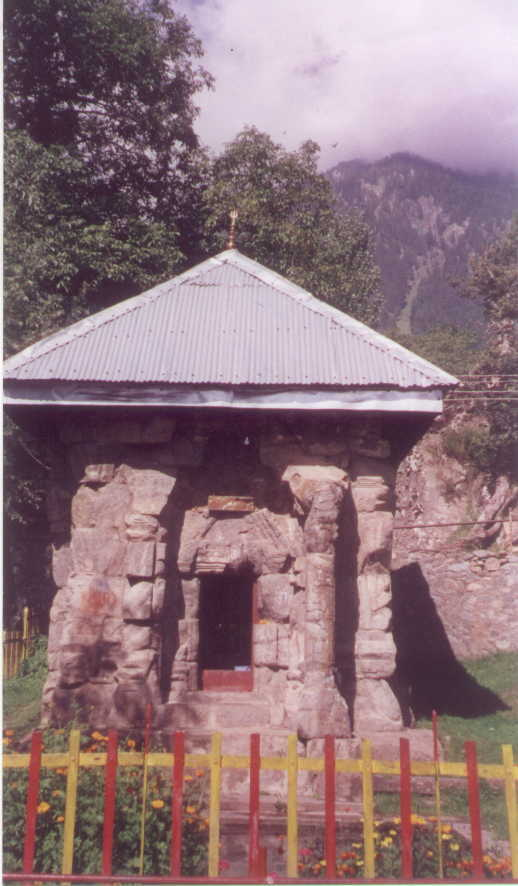 The bailgaNv temple