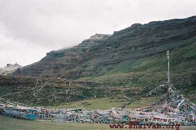 tar po che - The vally of God, around Kailash