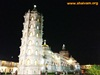 Sri Mangeshwar temple, Mangesh. (night view)
