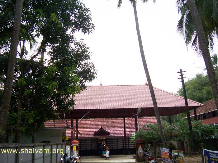 front appearence of temple