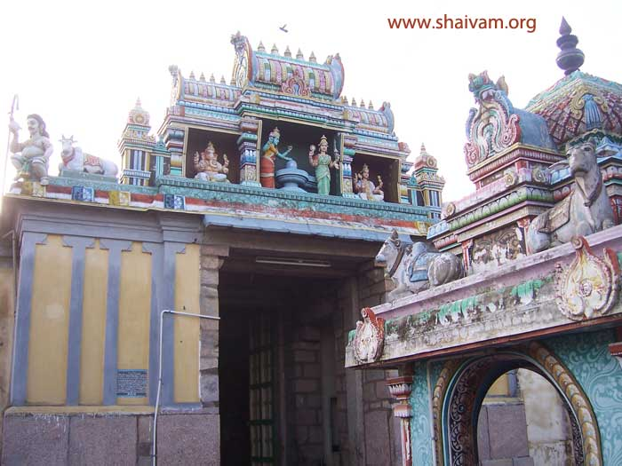 second entrance of the temple