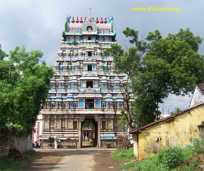 view of the rAjagOpuram
