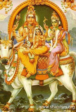 saha umA skandhar (Lord shiva with shakti and skanda - somaskandar)